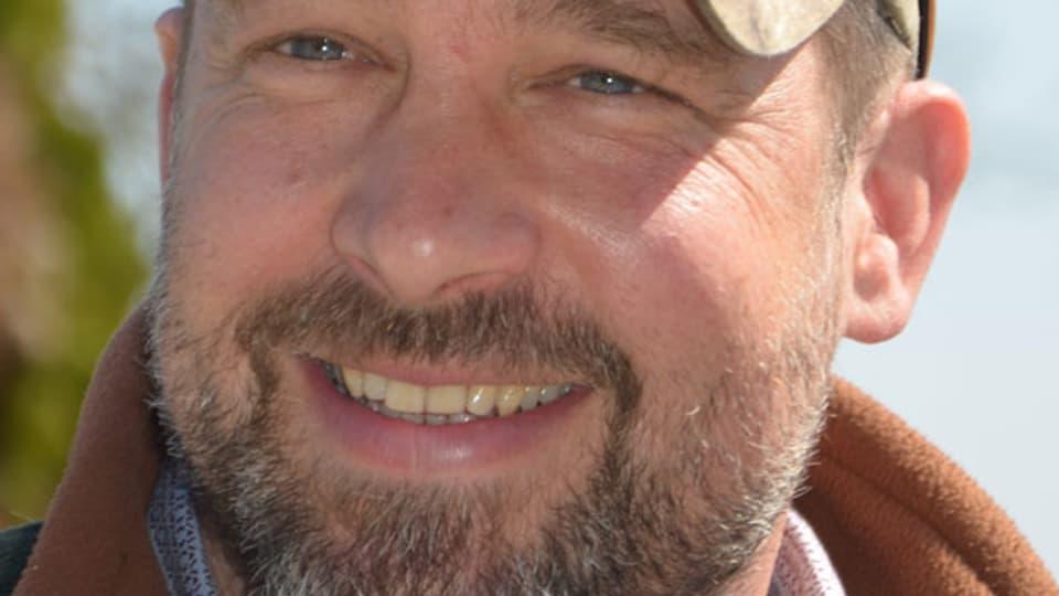 Waldbrand-Experte Alexander Held.