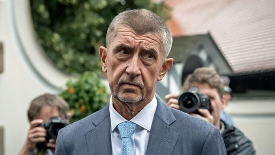 Der tschechische Ministerpräsident Andrej Babis am 20. August 2019.