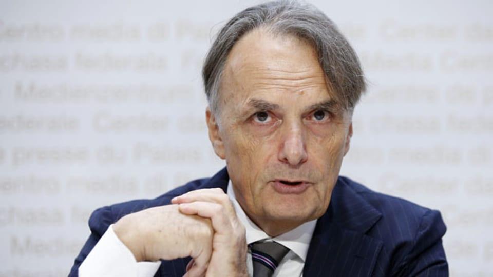 Mario Gattiker, Direktor des Staatssekretariats für Migration SEM, an der Pressekonferenz am 9. September in Bern.