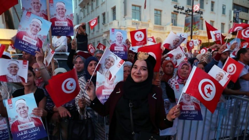 Tunesien hat gewählt: Der Kandidat der islamistischen Ennahda gehört zu den Verlierern des ersten Wahlgangs vom Sonntag.