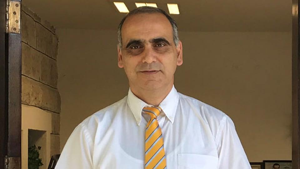 Der israelische Wahlkommentator Wadie Abunassar.