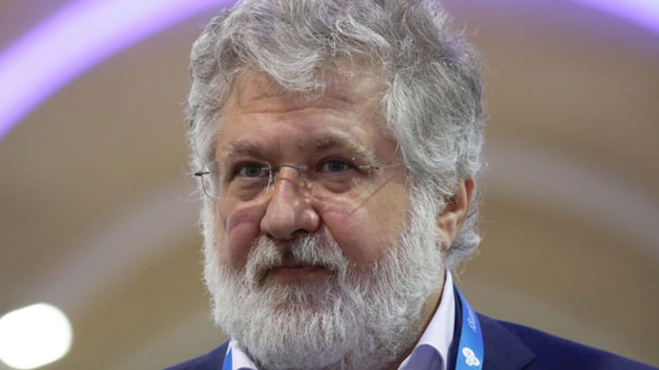 Der ukrainische Wirtschaftstycoon Ihor Kolomoisky.