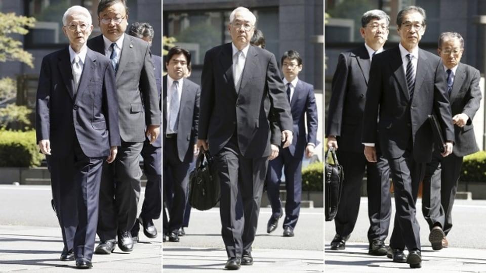 Die drei ehemaligen Manager des Fukushima-Kraftwerkbetreibers TEPCO, Tsunehisa Katsumata, Sakae Muto und Ichiro Takekuro wurden von einem japanischen Gericht freigesprochen.