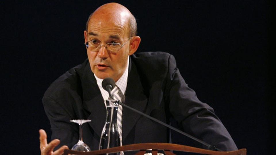 Der israelische Autor und Journalist Tom Segev. Archivbild.