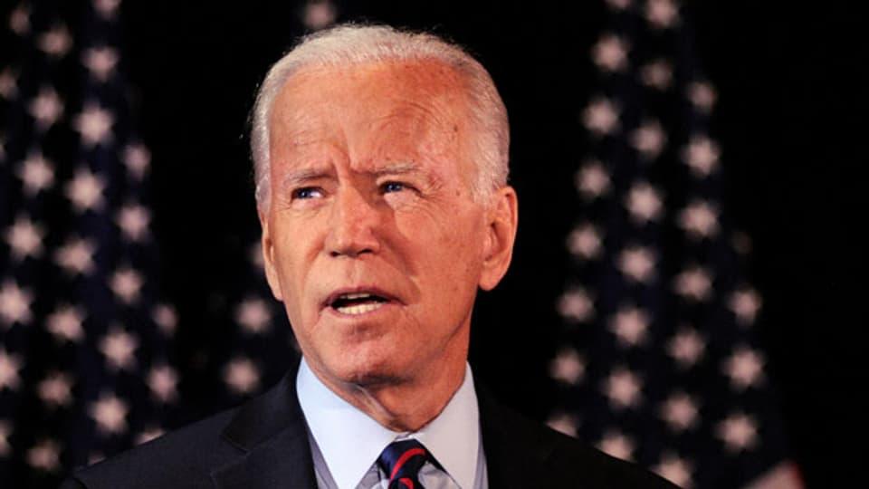 Der ehemalige US-Vizepräsident und demokratische Präsidentschaftsanwärter Joe Biden.