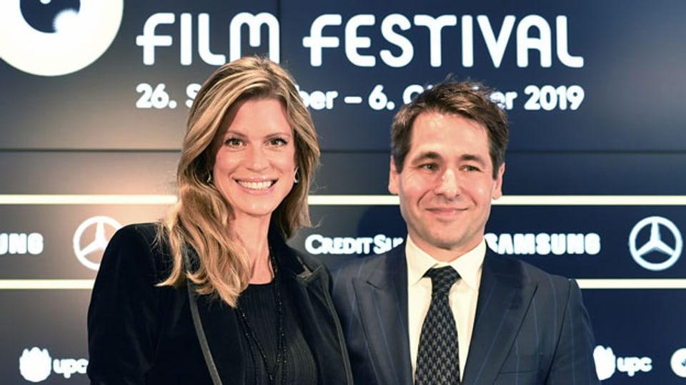 Nadja Schildknecht, Geschäftsführerin, und Karl Spörri, künstlerischer Direktor des Film Festival Zurich.