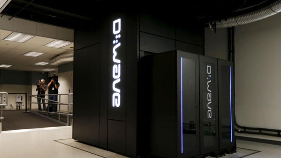 Ein Quantencomputer im NASA Ames Research Center in Mountain View, Kalifornien.