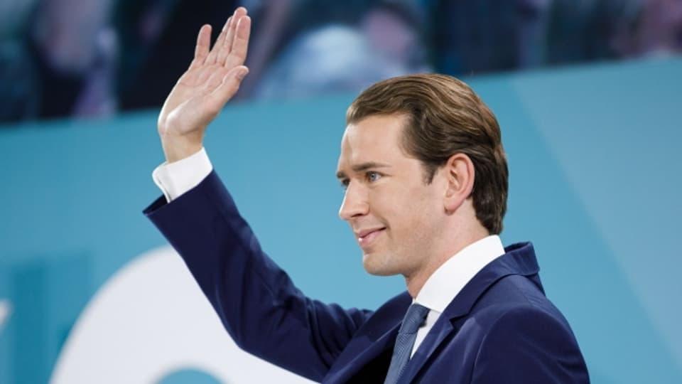 Der alte Kanzler dürfte der neue sein: Sebastian Kurz und seine ÖVP gehören zu den grossen Gewinnern der Wahlen in Österreich.