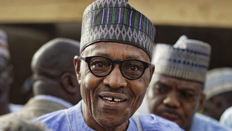 Nigerias Präsident Muhammadu Buhari.