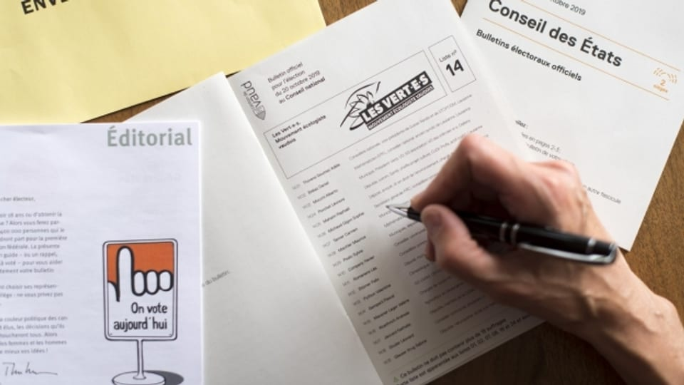 In mehreren Kantonen der Romandie haben Wählerinnen und Wähler fehlerhafte Wahlunterlagen erhalten.