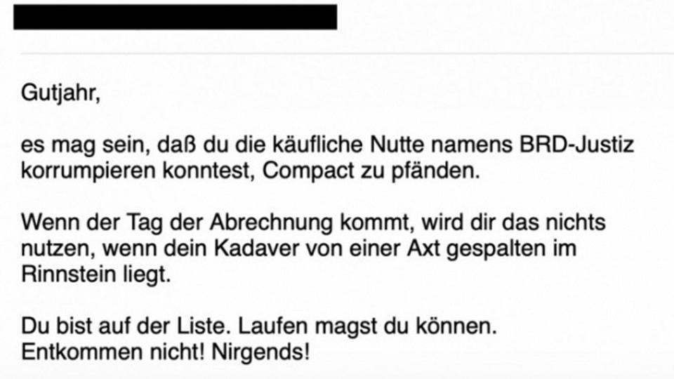Mails und Tweets: Hass gegen Medienschaffende im Netz.