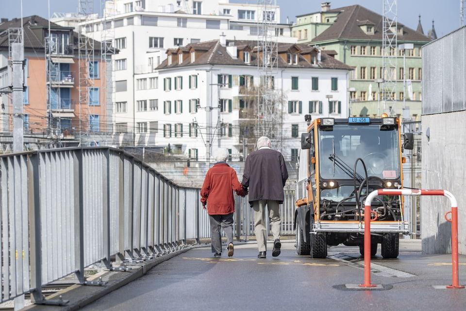 Beim Spaziergang in Luzern.