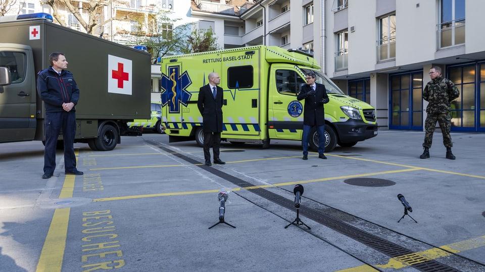Basel-Stadt nimmt schwerkranke Patienten aus dem Elsass auf.