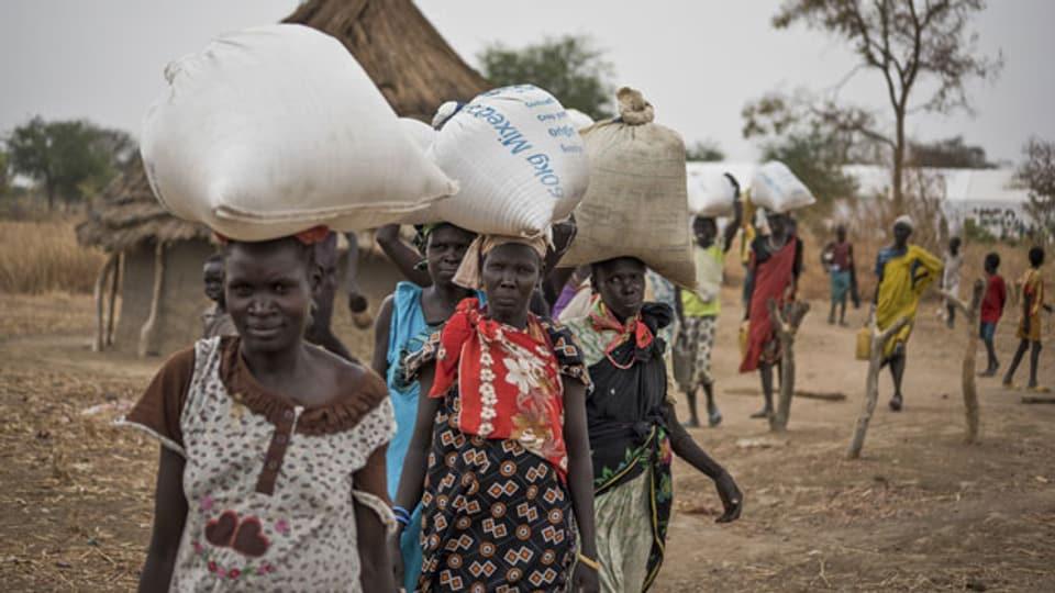 Symbolbild. Hungersnot in Südsudan.