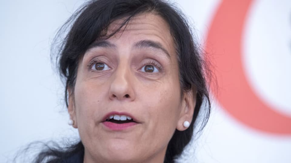 Vania Alleva leitet seit 2015 die Unia, die grösste Gewerkschaft der Schweiz.