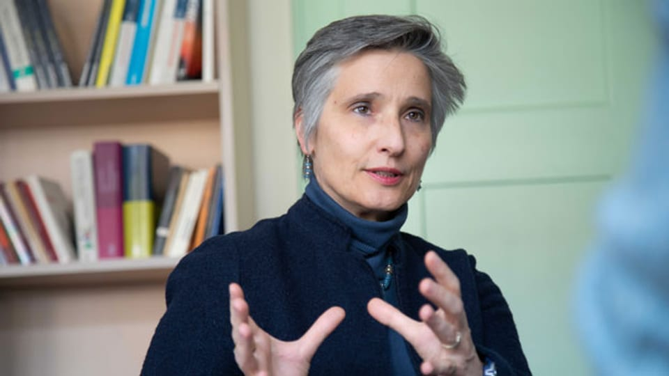 Isabelle Noth, Theologieprofessorin.