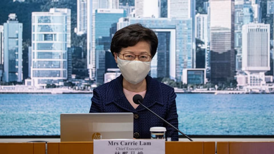 Die Hongkonger Regierungschefin Carrie Lam.