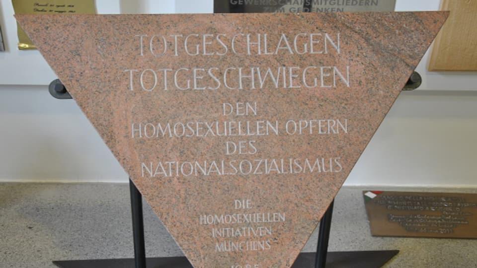 Gedenktafel in Dachau