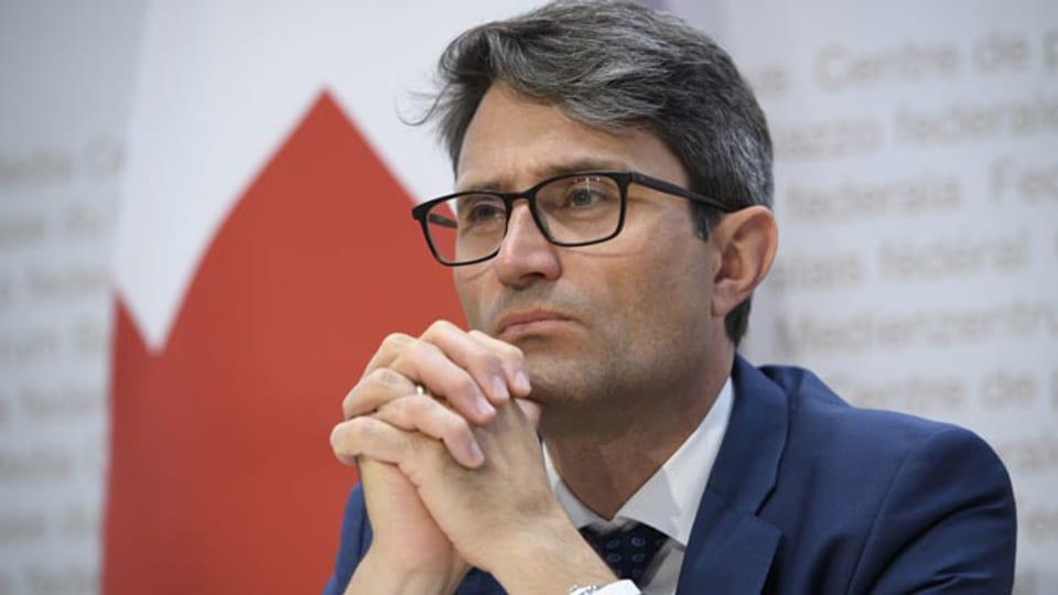 Lukas Engelberger, Regierungsrat und Präsident der Konferenz der kantonalen Gesundheitsdirektorinnen und -direktoren (GDK).