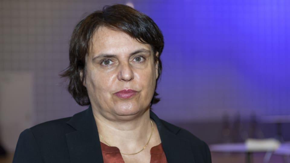 Die bisherige grüne Regierungspräsidentin Elisabeth Ackermann schneidet in den baselstädtischen Wahlen schlecht ab.