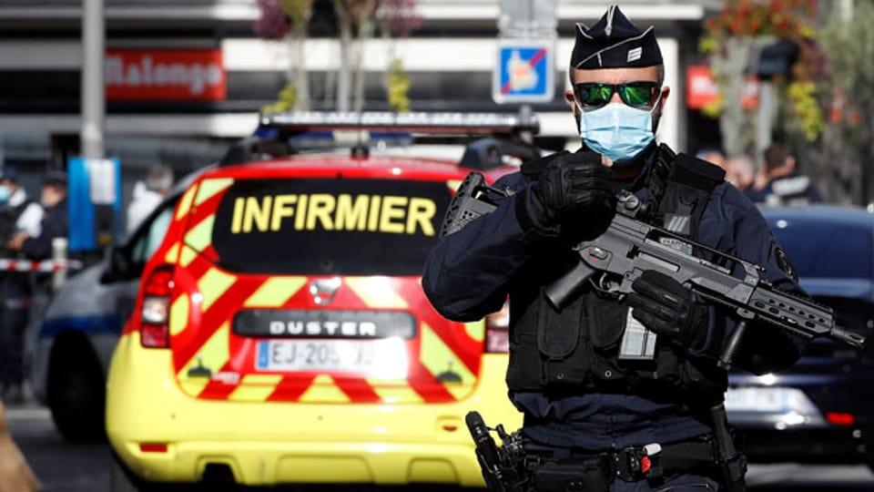 Drei Tote bei Messerangriff in Nizza.