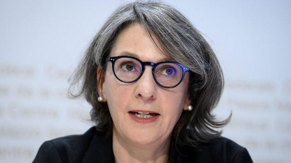 Anne Lévy, Amtsdirektorin Bundesamt für Gesundheit BAG.