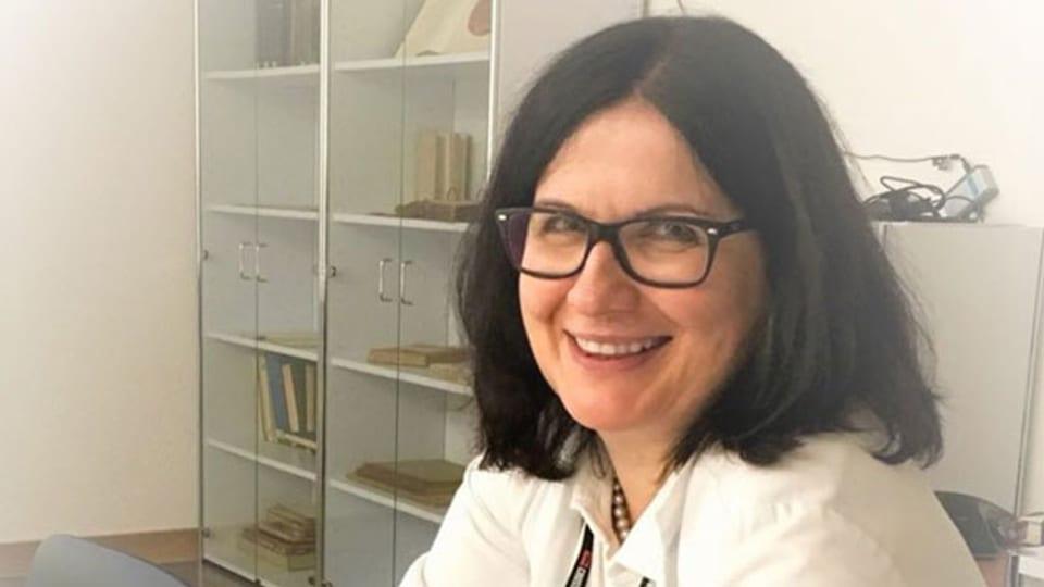 Pathologieprofessorin Zsuzsanna Varga.