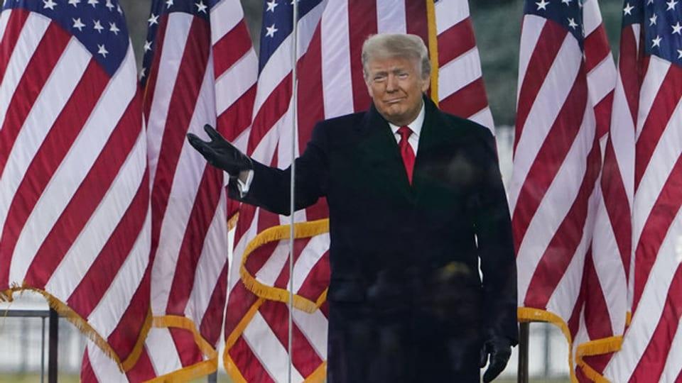 Gegen Donald Trump läuft zum zweiten Mal ein Impeachment.