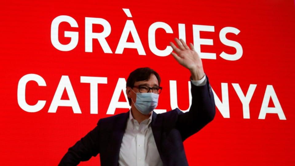 Holte am meisten Stimmen bei den Wahlen in Katalonien: Salvador Illa, der Kandidat der Sozialisten.