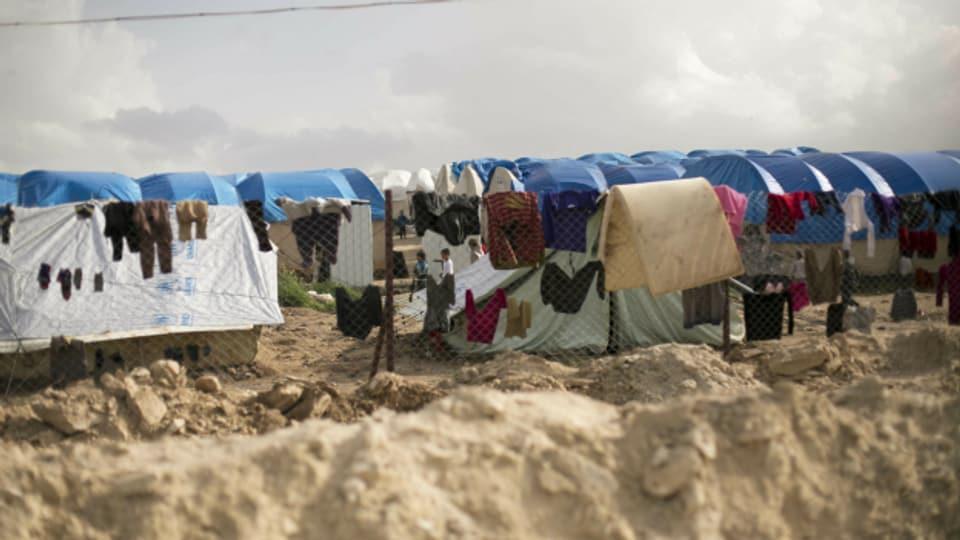 2/3 der Menschen im syrischen Flüchtlingscamp «Al-Hol» sind Kinder.