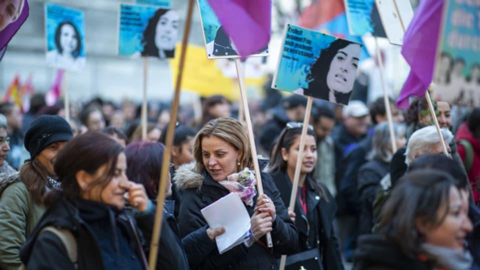 Weltfrauentag vor Corona: So demonstrierten Frauen 2019 für mehr Gleichstellung in der Schweiz.