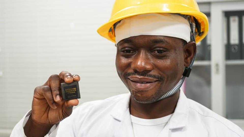 Ghanaische Schokolade der Firma «Niche Cocoa» - ein Beispiel für lokale Wertschöpfung.