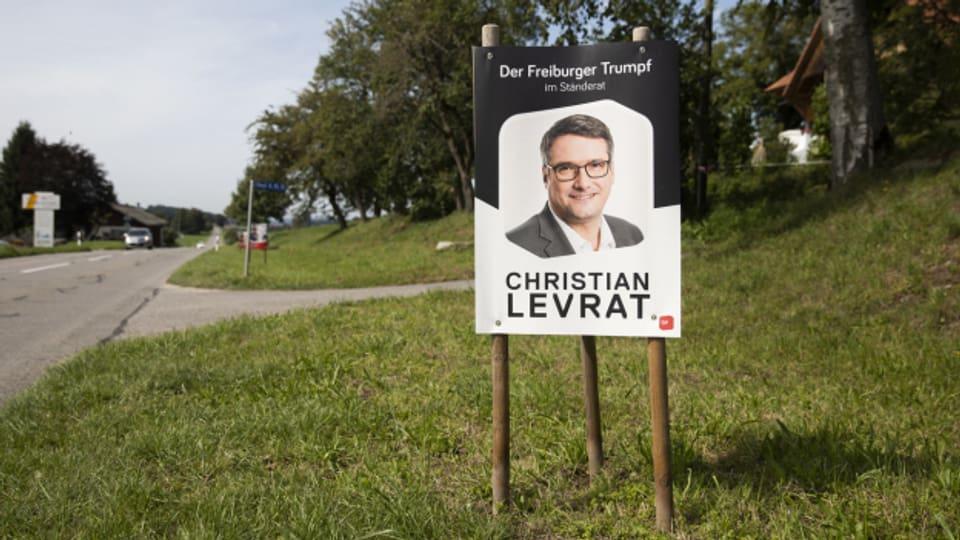 """Der einstige """"Freiburger Trumpf"""" Christian Levrat bringt nun die Wahlen in seinem Heimatkanton durcheinander."""