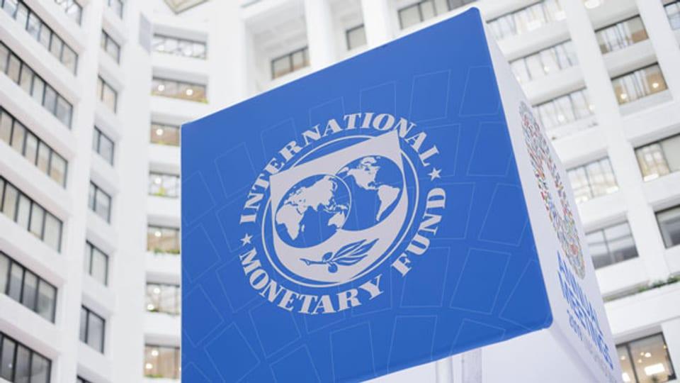 Das Logo des IWF.