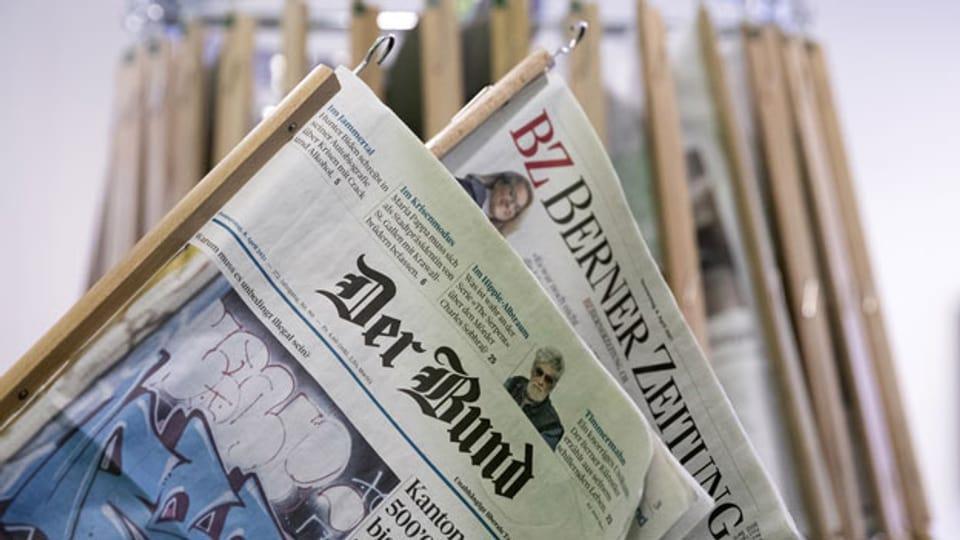 Die Zürcher Tamedia legt in Bern die Redaktionen von «Berner Zeitung» und «Bund» zusammen und streicht voraussichtlich 20 Vollzeitstellen.