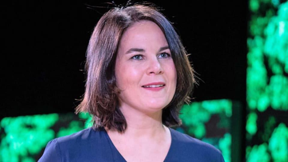 Annalena Baerbock, die Kanzlerkandidatin der Grünen in Deutschland.