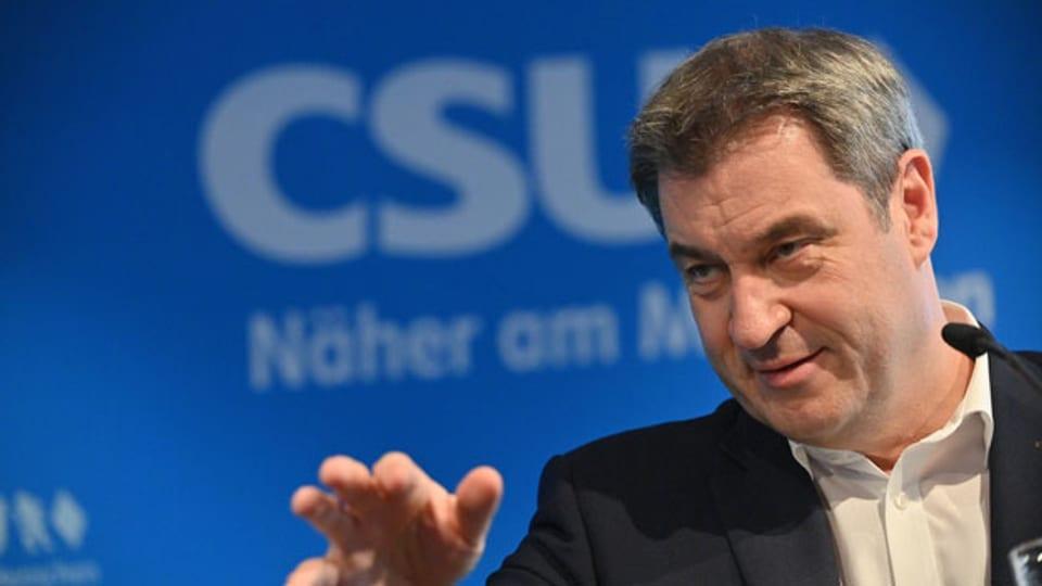 CSU-Chef Markus Söder.
