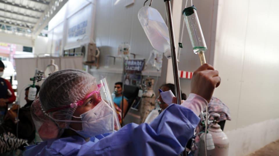 «Paraguay hat die Impfstoffbestellung verschlafen», sagt Journalistin Sandra Weiss.