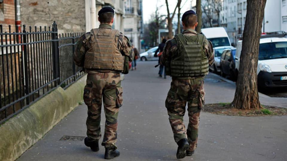 Symbolbild. Französische Soldaten.