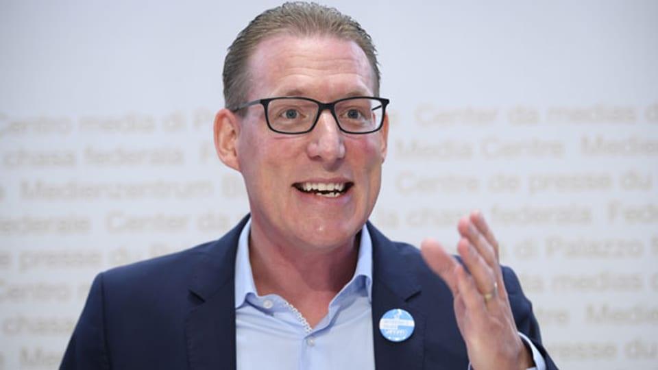 Adrian Wüthrich, Präsident Travail.Suisse.