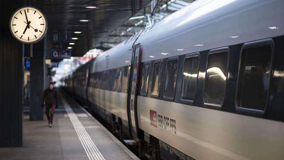Ein Zug der SBB in St. Gallen. Symbolbild.
