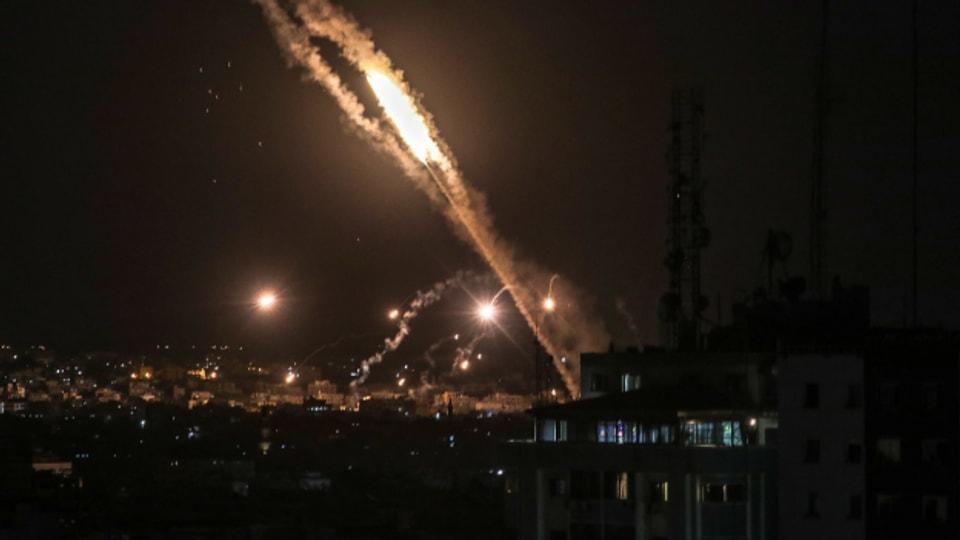 Die Raketen der Hamas werden vom Iran mitfinanziert.