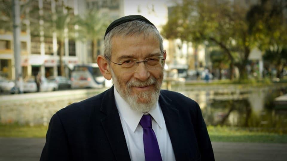 Der jüdisch-orthodoxe Rabbiner Michael Melchior.
