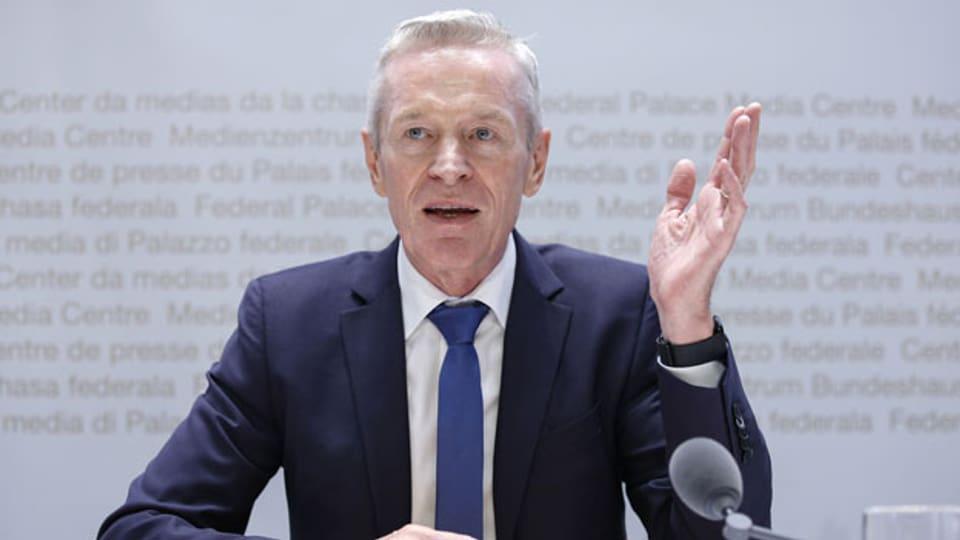 Werner Luginbühl, Präsident ElCom.