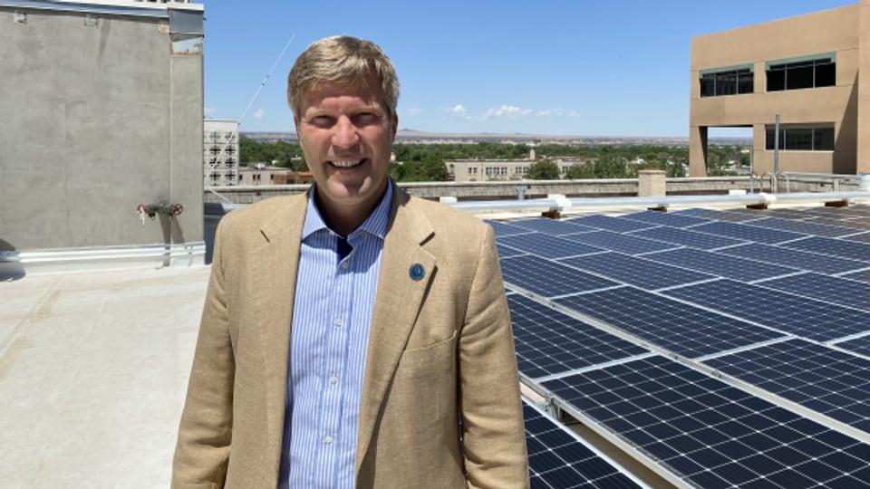 Bürgermeister Tim Keller, Albuquerque.