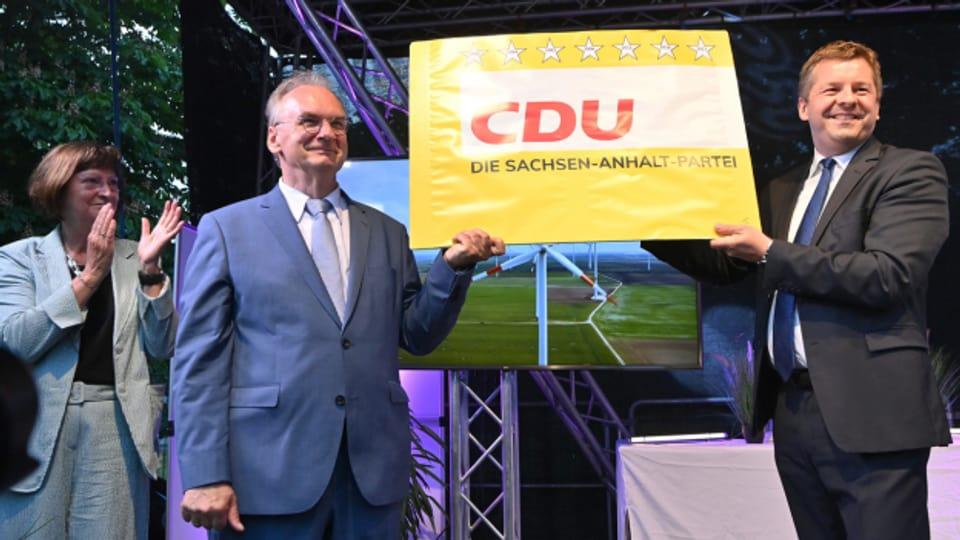 Die CDU ist deutliche Gewinnerin bei der Landtagswahl in Sachsen-Anhalt.