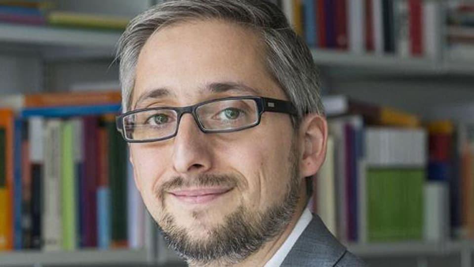 Manuel Puppis, Medienprofessor.