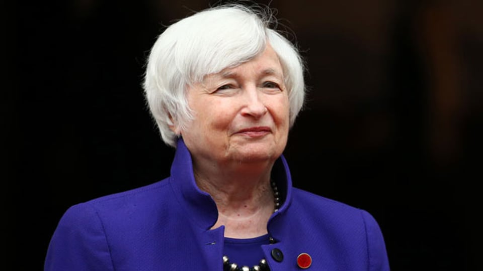 Janet Yellen, die neue US-Finanzministerin.