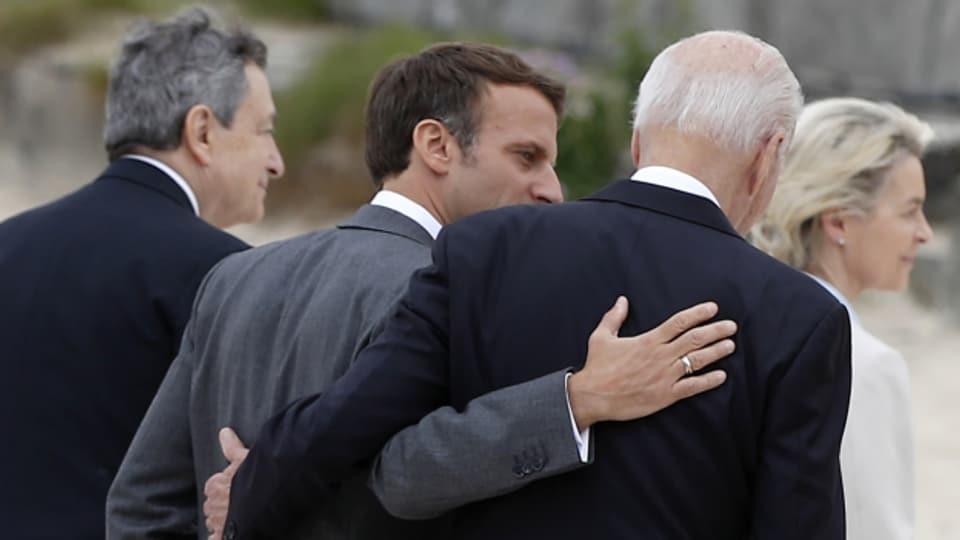 G7 demonstriert Harmonie