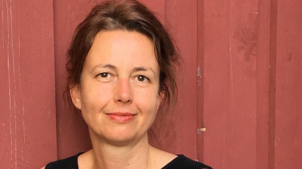 Dagrun Hintze, Fussball-Kolumnistin und Theaterautorin .